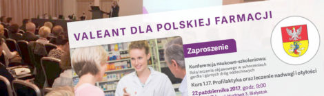Valeant dla Polskiej Farmacji jesienią!