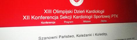 XIII Olimpijski Dzień Kardiologii / XII Konferencja Sekcji Kardiologii Sportowej PTK