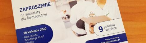 Nowy cykl szkoleniowy dla farmaceutów