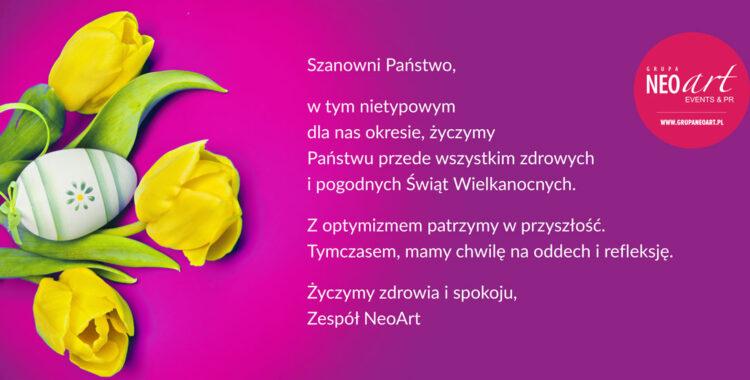 Najlepsze życzenia Wielkanocne!