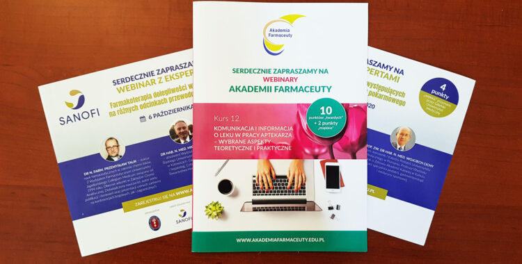 Akademia Farmaceuty on-line w trakcie