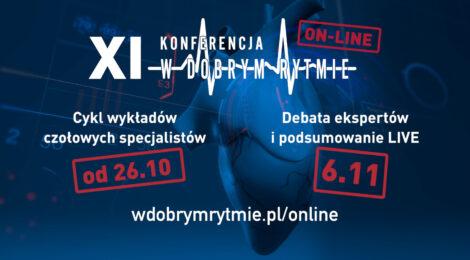 XI Konferencja W Dobrym Rytmie w nowej formule