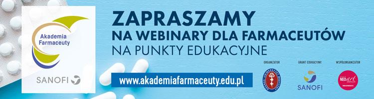 Akademia Farmaceuty - bezpłatne szkolenia on-line