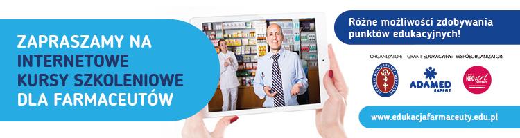 Edukacja Farmaceuty - internetowe kursy szkoleniowe dla farmaceutów