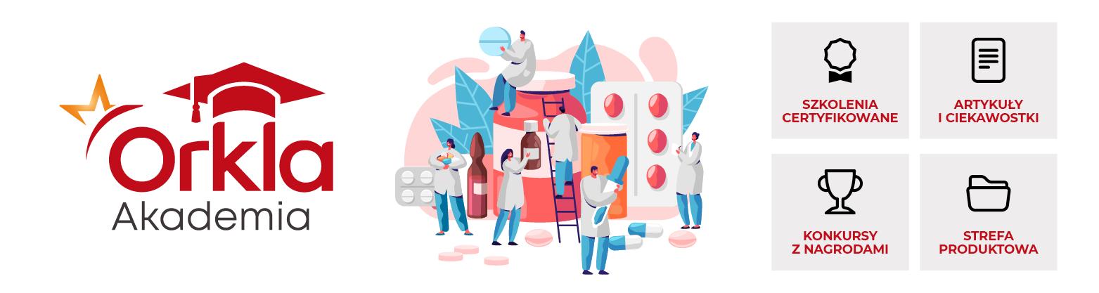 Akademia Orkla - platforma edukcyjno-informacyjna dla farmaceutów