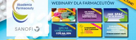 Webinary z ekspertem w ramach Akademii Farmaceuty